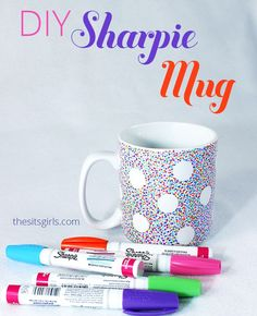 Turn your plain, boring coffee mug into something fabulous. If you follow these directions exactly, you will have a DIY Sharpie Mug with a design that lasts!