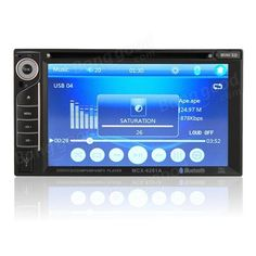 6.2 Inch Car Stereo Audio Video MP5 DVD Player 2 Din In-Dash FM AM AUX for iPod USB Sale - Banggood.com