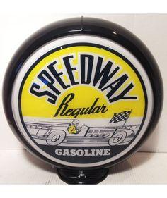 Speedway Regular Benzinepomp Bol zwarte rand The Fifties Store - Retro Fashion & Living http://www.fiftiesstore.com