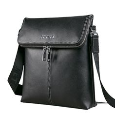 JD-Jetrs 2016 new men's fashion wild casual leather shoulder bag diagonal male bag authentic