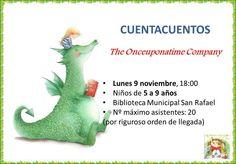 Cuentacuentos en inglés. Biblioteca Menéndez Pidal 9 noviembre 2015