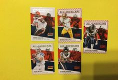2016 Score All Americans Various Players/teams Inc Robert Griffin III Lot Of 5…