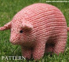 Doudous+animaux+laine+tricotée
