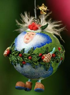 Peace on Earth ornament- Patience Brewster - in personal collection (one of my first purchases)
