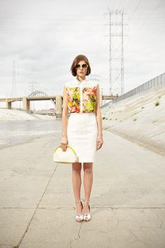 Club Monaco's Spring Looks Prove You Can Wear Color to Work - Lookbook of the Day - Racked National