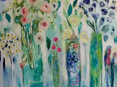 When in Bloom 36x48 Original and prints available.