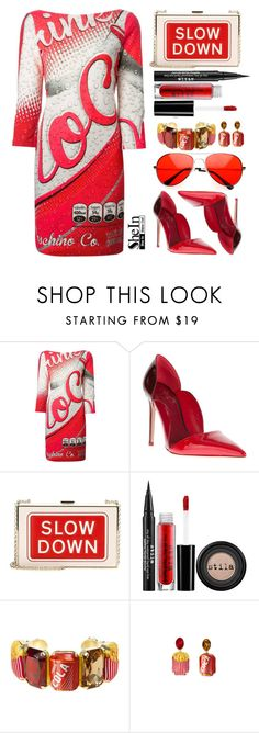 """""""Shein"""" by simona-altobelli ❤ liked on Polyvore featuring Anya Hindmarch, Stila, Bijoux de Famille, women's clothing, women's fashion, women, female, woman, misses and juniors"""