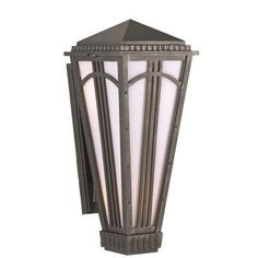 "Parisian PE4400 Series Semi Flush Wall Brackets 16"" Wall Lantern Finish: Old Bronze by Melissa Lighting. $183.60. PE44315-OB Finish: Old Bronze Features: -Wall lantern.-Opal glass panel.-Electronic ballast EBPL:13(four pin).-UL listed. Options: -Available in Black, White, Old Iron, Architectural Bronze, Rusty Nail, Old Bronze, Old World, Aged Silver, Patina Bronze and Old Copper finishes. Construction: -Cast aluminum construction. Specifications: -Accommodates (1) ..."