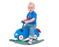 $65 for a Classic Blue Rocking Car for Kids