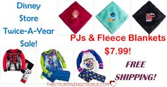 HOT DEALS at the DISNEY STORE plus FREE SHIPPING! Grab PJs for only $7.99! Fleece blankets for $7.99! Save 60% on tons of items!  Click the link below to get all of the details ► http://www.thecouponingcouple.com/disney-store-pjs-n-fleece-blankets/ #Coupons #Couponing #CouponCommunity  Visit us at http://www.thecouponingcouple.com for more great posts!