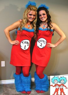 Thing 1   Thing 2 Halloween Costume  Halloween Diy Halloween Costumes For  Women 61b2242b0