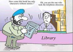 nice THE LIBRARY - jokes on adult