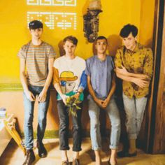 Dave Bayley, Joe Seaward, Drew Macfarlane, and Edmund Irwin-Singer from Glass Animals Space Ghost, Intense Love, Tv Show Music, Glass Animals, Animal Wallpaper, Cool Bands, Music Artists, Sons, Indie