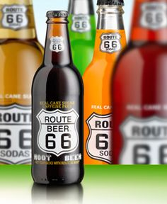 """Have you been seeing """"Route 66"""" soda all over the place on your journey so far? Well, one of the first places you run across on this stretch is Mr. C's Route Post (24200 Route 66, Waynesville MO), where the Route 66 Sodas originate."""