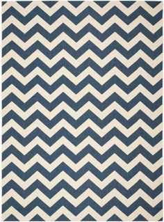Looking For A Navy Cream Chevron Rug The Baby Nursery Liking This Choice From Wayfair Com Can Pinterest Rugs And