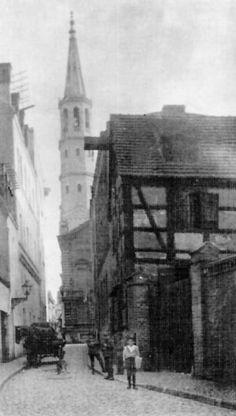Tadeusza Malczewskiego w kierunku Starego Rynku- Old World, Old Photos, Big Ben, Building, Travel, History, Old Pictures, Viajes, Antique Photos
