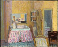 pierre bonnard(1867-1947), the dressing room, 1914. oil on canvas, #Matildajaneclothing, #mymjcdreamcloset