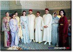 La famille royale marocaine (descendants du Roi Hassan II)