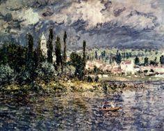 Claude Monet (1840-1926) Landscape With Thunderstorm