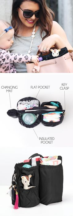 Introducing ToteSavvy Mini! Our smaller, more efficient diaper bag organizer insert! – www.lifeinplaycompany.com