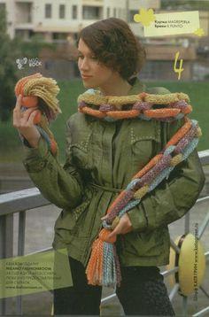Bufandas Tejidas Raras y Diferentes - Patrones Crochet