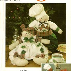 A Gingerbread People Doll Pattern