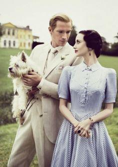 Edward (James D'Arcy) & Wallis Simpson (Andrea Riseborough) - W.E. (2011)