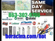 Best Emergency Hot Water Heater Repair Polk County, Florida Same Day Ser... Mobile Mechanic, Lakeland Florida, Car Repair Service, Real Estate Services, The Help, Day, Water, Davenport Florida, Facebook