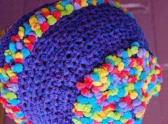 free crochet hat pattern Deco-Ribbon + Popcorn Perky Hat Free crocheted Pattern - Crystal Palace Yarns