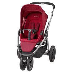 Maxi Cosi Mura Plus Stroller-Robin Red (2015)  Description: The smart looking Maxi-Cosi Mura Plus pushchair is a flexible travel system, a cosy pram for a newborn that turns into a comfy pushchair for kids up to 3. 5 years old. In any of the 3 recline positions, the Mura Plus? sun canopy and raincover offers plenty of all-over protection...   http://simplybaby.org.uk/maxi-cosi-mura-plus-stroller-robin-red-2015/