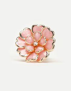 Heart petal Charlotte Russe ring