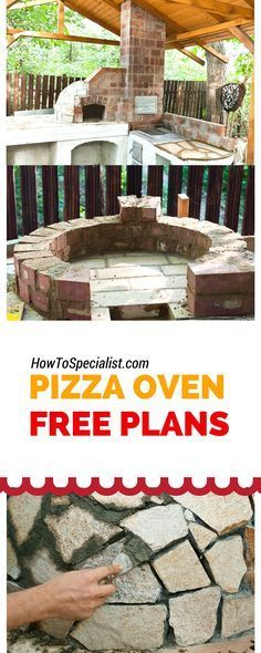 How to build a pizza oven - Tips, Ideas, Plans and instructions for a wood fired brick oven!
