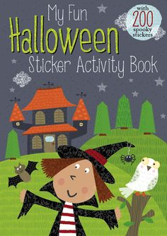 Halloween Witch Book Cover