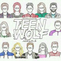 Season 3-Teen Wolf