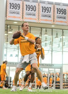 2014 Peyton and Dobbs! look at those championship banners.   wd