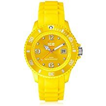 Ice-Watch Unisex Sili Collection Yellow Plastic and Silicone Watch Precise, high-quality Miyota Japanese-quartz movement Sili Collection Water resistant to 165 feet M): suitable for swimming and showering women wrist watches Ice Watch, Trendy Watches, Cool Watches, Rolex Watches, Watches For Men, Wrist Watches, Skagen, Unisex, Watch Sale