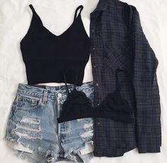 Flannel & Shorts