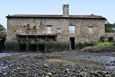 Molino de mareas Cereixo.  Casa de Pepucho.