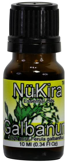 Galbanum Essential Oil (Ferula galbaniflua) Therapeutic Grade By NuKira (10 ml) *** See this awesome image  : aromatherapy essential oils