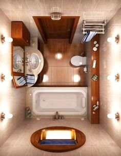 I really love this type of classy style of a bathroom. Perfect for small spaces or apartment. http://bathroomist.com/an-amazing-small-bathroom-renovation-ideas.html