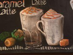 Hauelnut Late & Chocolate // Chalkart by E J Nussbaum Coffee Chalkboard, Latte, Chalkboards, Chalk Art, Chocolate, Chocolates, Chalkboard, Brown, Latte Macchiato