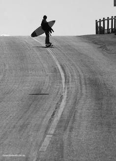 Skate to surf.