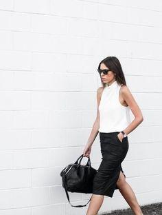 Minimal + Classic: simple clean workwear look   modern legacy