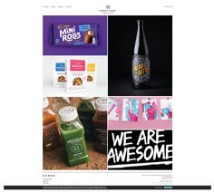 Scrolling Website homepage design ideas | http://www.robot-food.com/