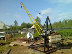 Farm Projects, Metal Projects, Construction Lift, Truck Mounted Crane, Mechanical Advantage, Gantry Crane, Iron Furniture, Homemade Tools, Heavy Equipment