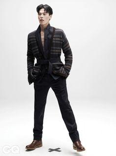 kim wonjoong for gq magazine september issue 2014 Asian Men Fashion, Mens Fashion, Kim Won Joong, Stylish Mens Outfits, Gq Magazine, Asian Celebrities, Korean Men, Gentleman, Fashion Accessories