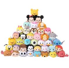 Disney's Tsum Tsum's One Year Anniversary 40 Piece Set