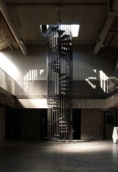 San Francisco : belle reconversion en loft pour un ex-entrepôt de cigarettes