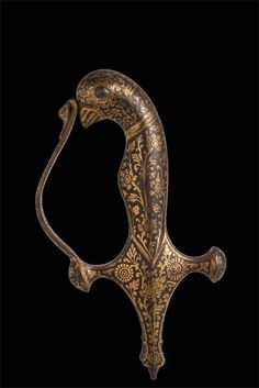 Tulwar Handle from The Caravana Collection, see it at www.caravanacollection.com