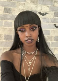 Pretty Makeup, Makeup Looks, Pretty People, Beautiful People, Swag Girl Style, Alternative Makeup, Black Girl Aesthetic, Afro Punk, Black Is Beautiful